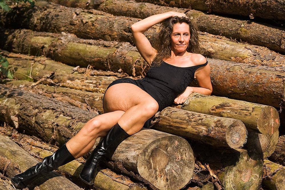 ....wartend auf den Holzfäller (II)....