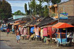 WARUNG-Rast am Sumatra-Highway