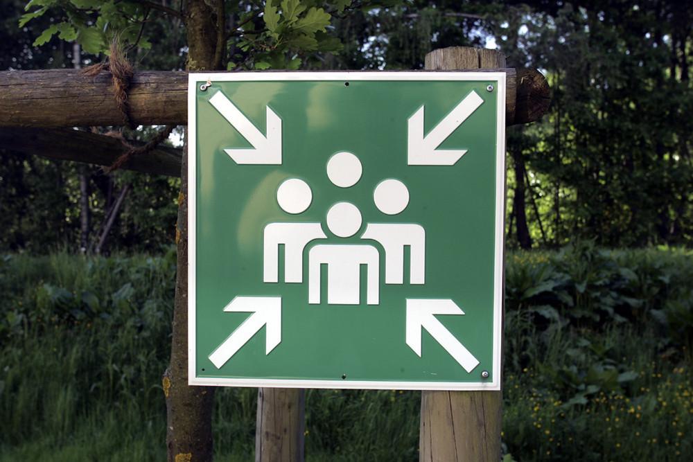 Was bedeutet dieses Schild?