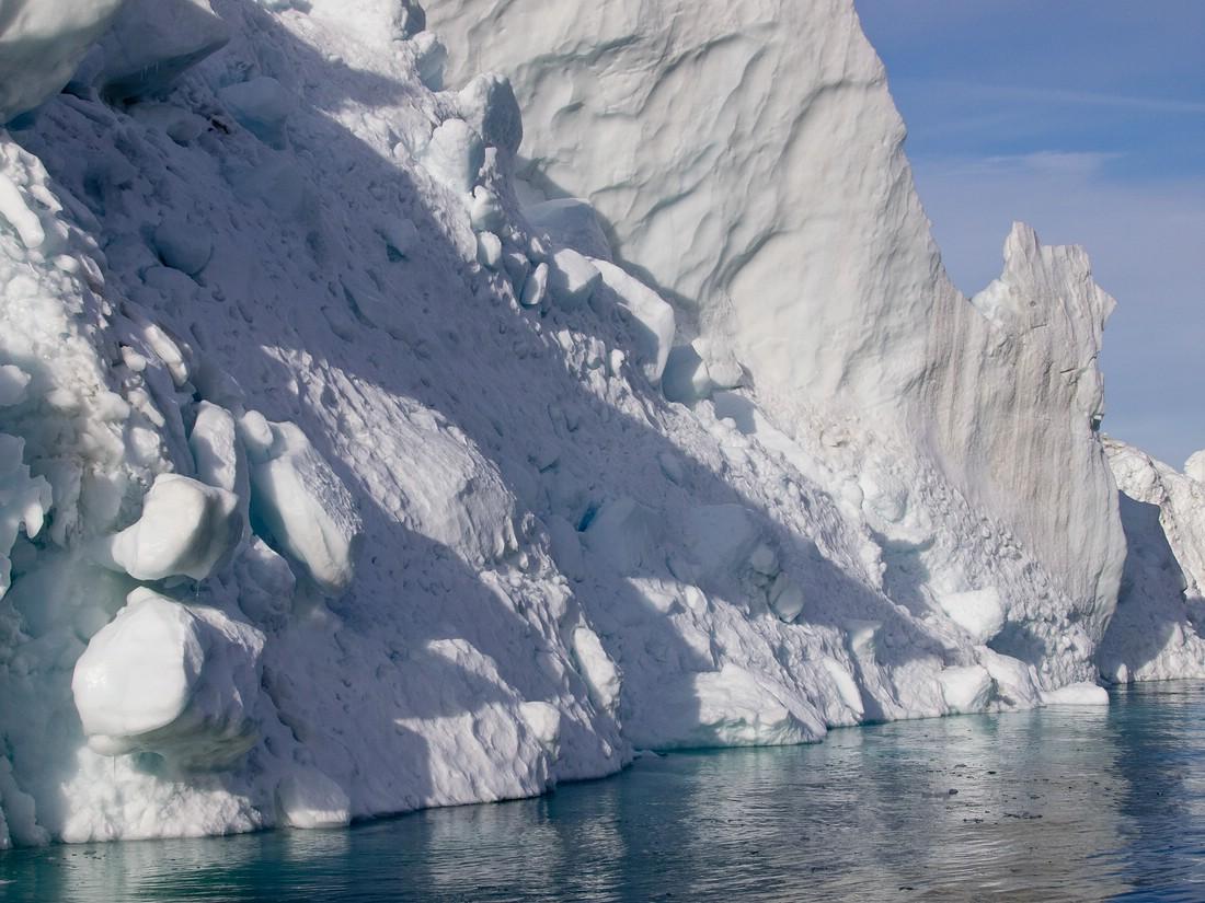 was für eine gewaltige Eismasse...