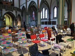 Was hat ein Campingstuhl in der Kirche zu suchen?