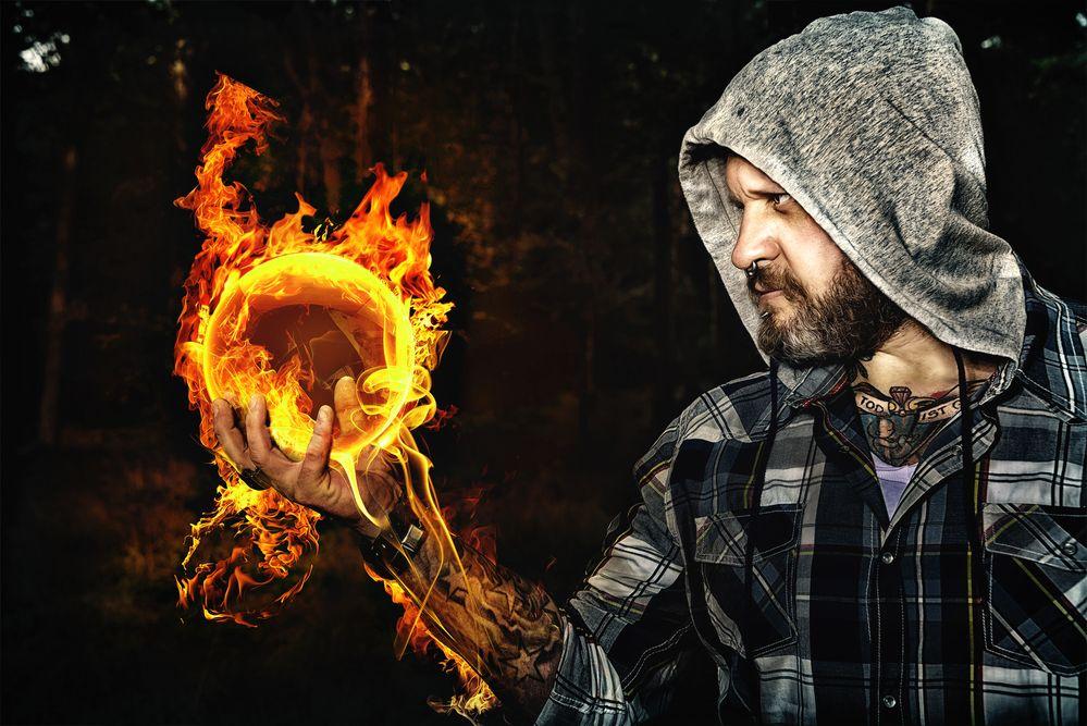 Was leuchten will, muß sich verbrennen lassen....