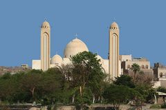 was man nicht alles sieht in assuan eine moschee die keine ist sondern eine chrisltich kirche ist