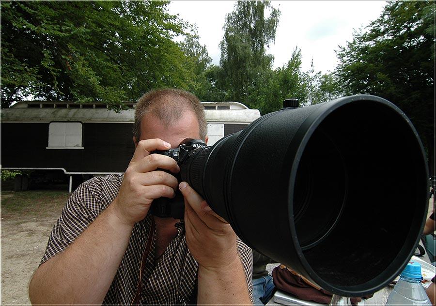 Was passiert wenn man mit einem extremen WW ein extremes Tele fotografiert?