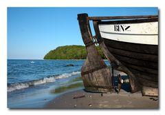 Was wäre Binz ohne sein Boot...?