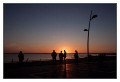 was wäre ein Borkumurlaub ohne Sonnenuntergang?