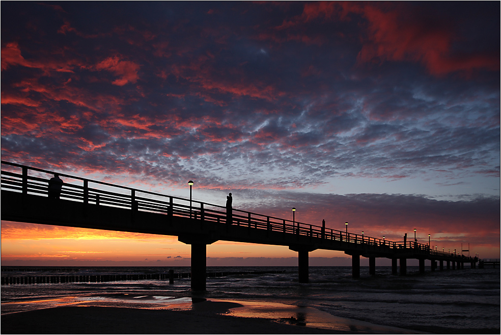 Was wäre Zingst ohne Seebrücke...?