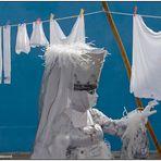 Waschtag auf Burano