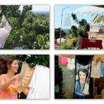 Waschtag auf Kuba