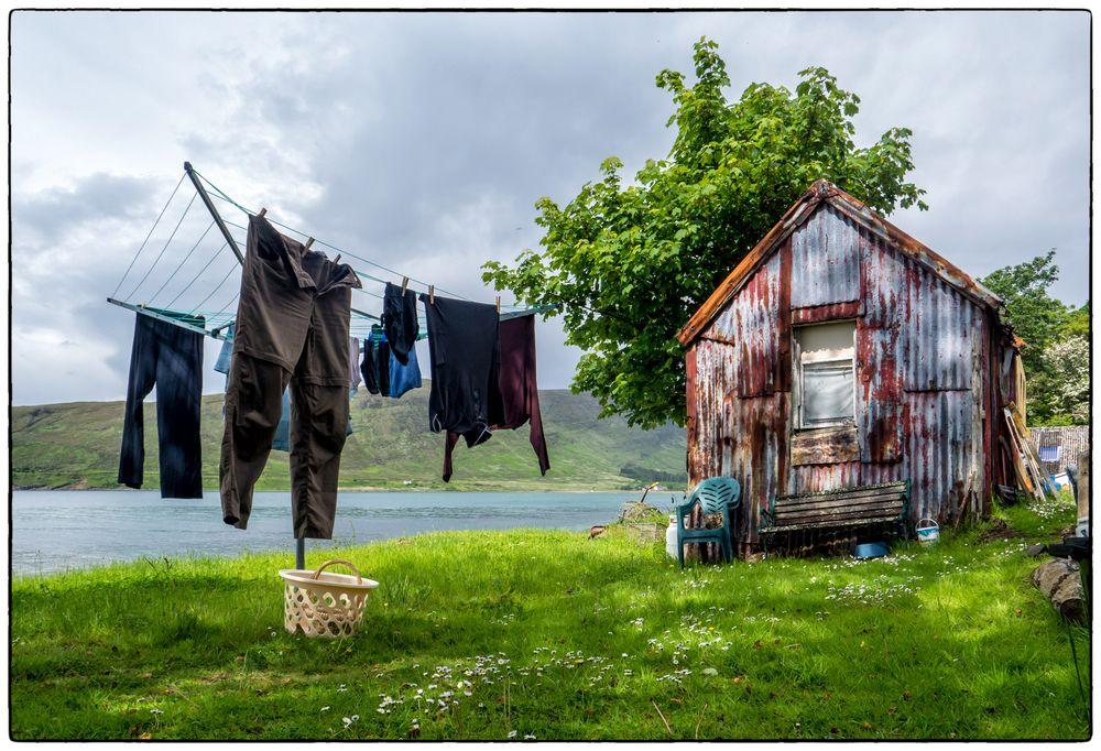 Waschtag in Applecross