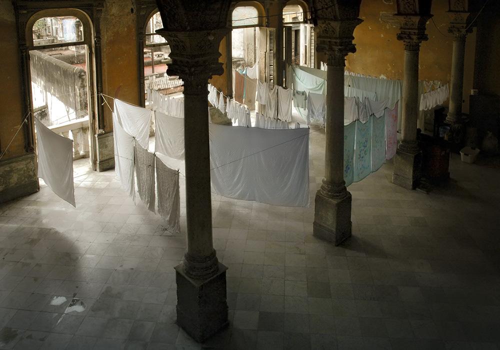 Waschtag in Havanna