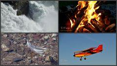Wasser, Feuer, Erde, Luft