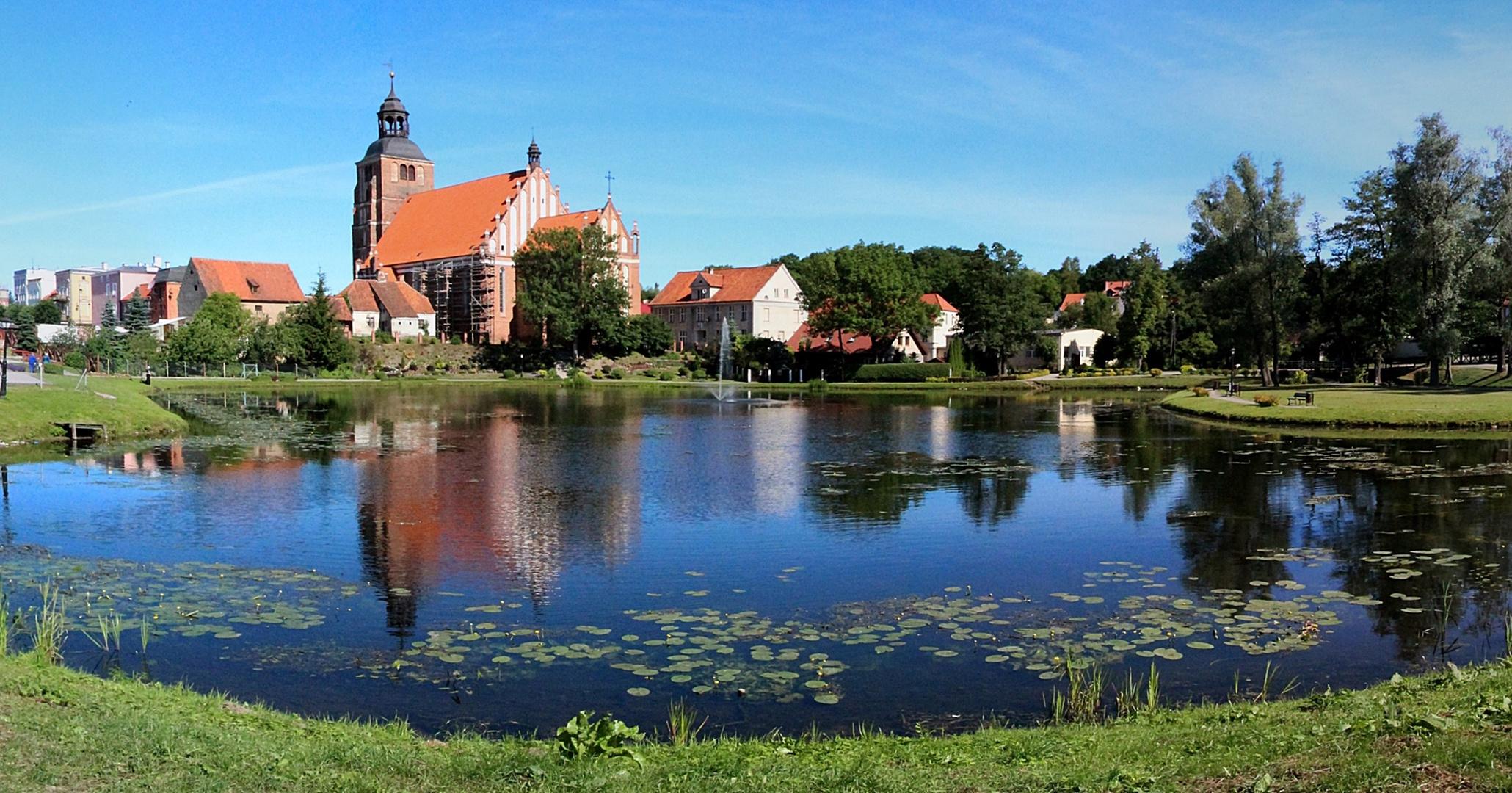 Wasser in Ermland- Masuren - Teichlandschaft in Barczewo