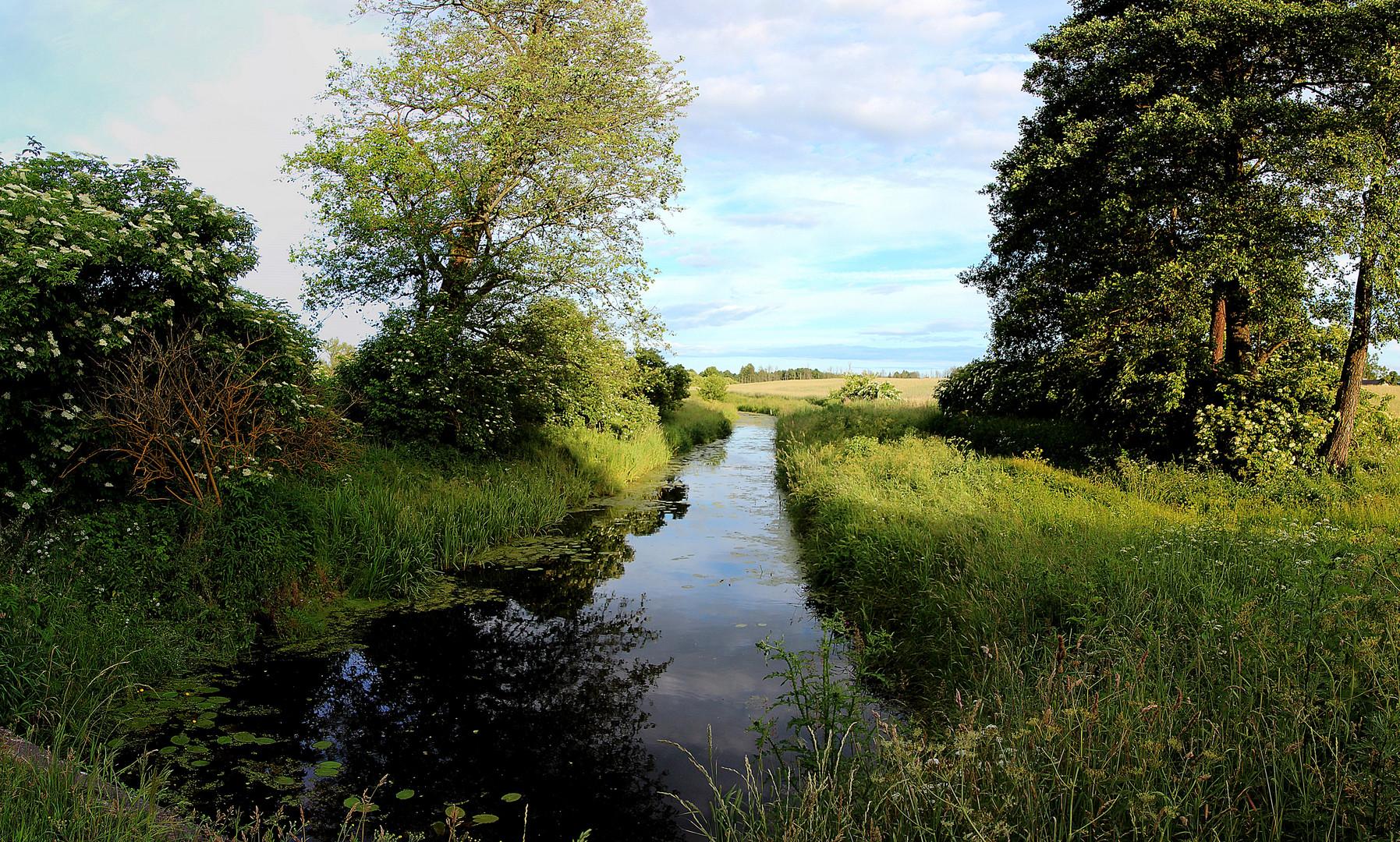 Wasser in Ermland- Masuren - Wassergraben