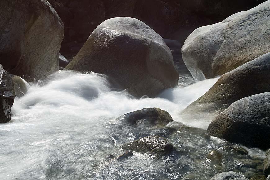 Wasser: jetzt fliessend