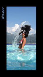Wasser, Luft und einen lieben Menschen...
