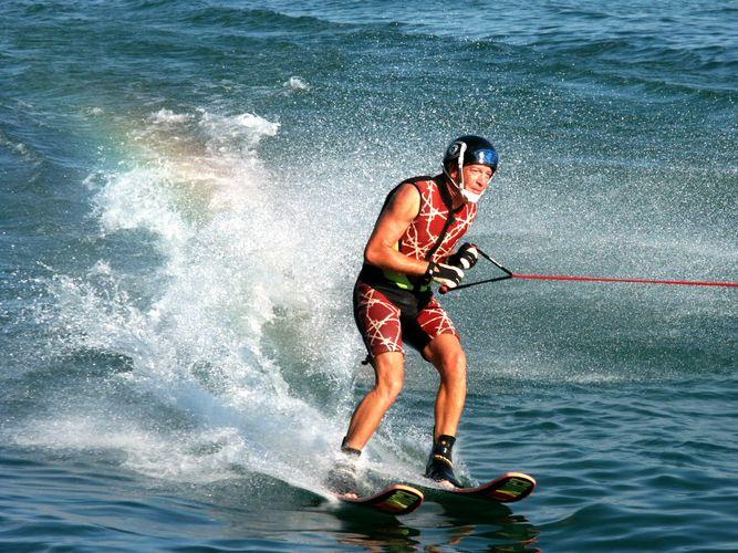 Wasser Ski Bodensee Seenachtsfest 2001