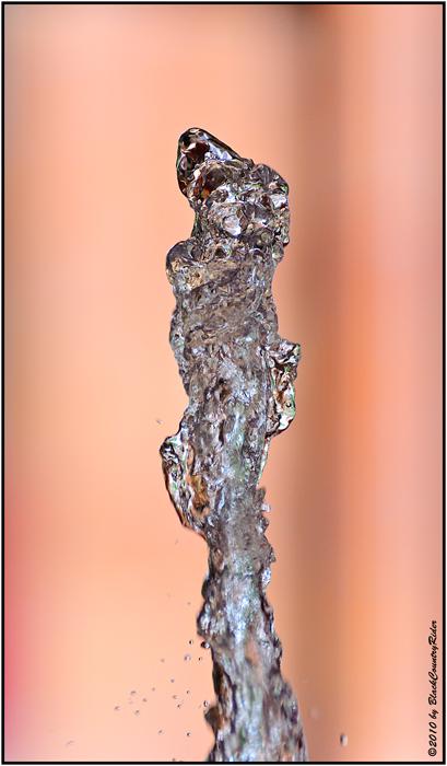 Wasser-Skulptur