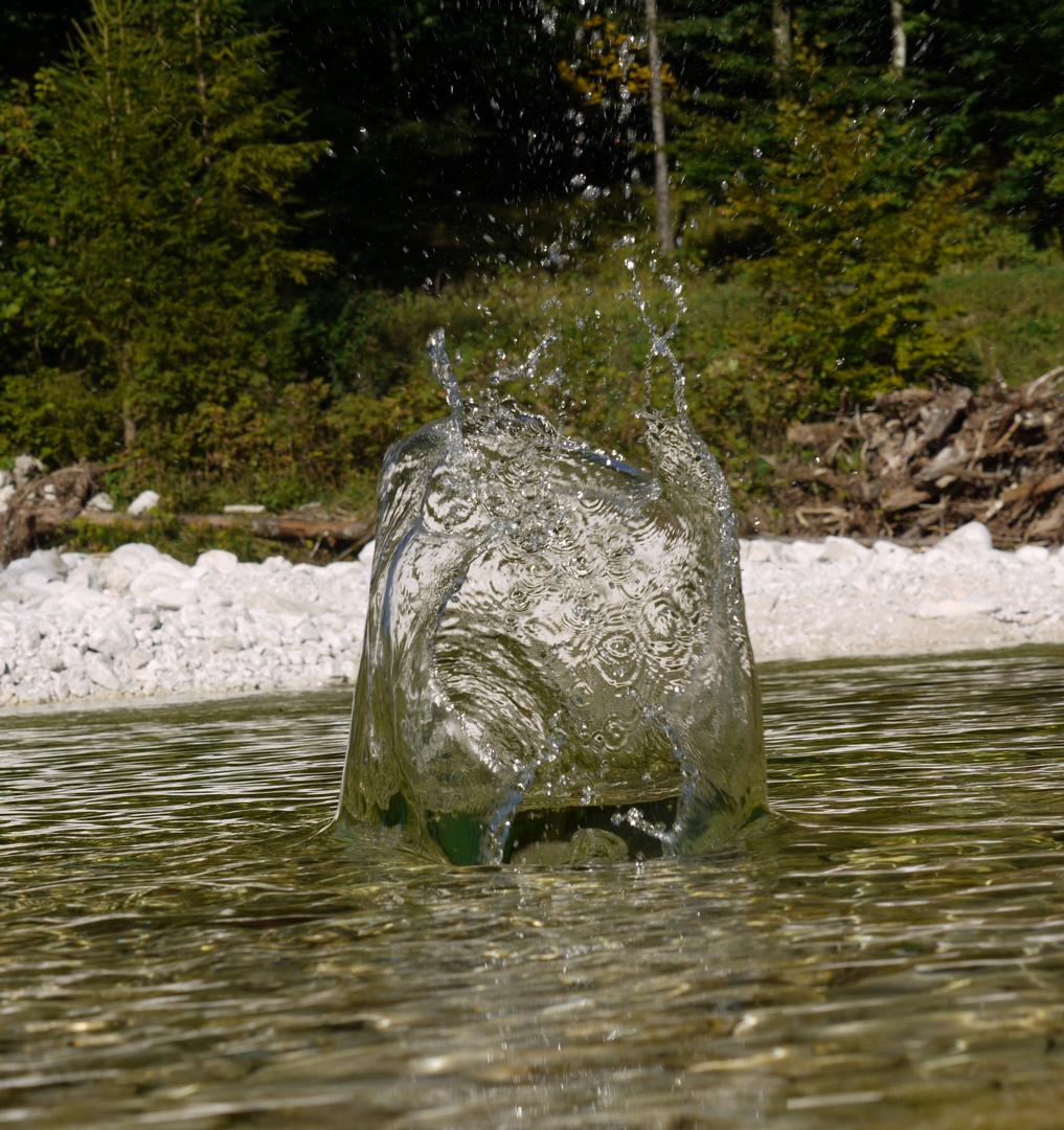Wasser Splash