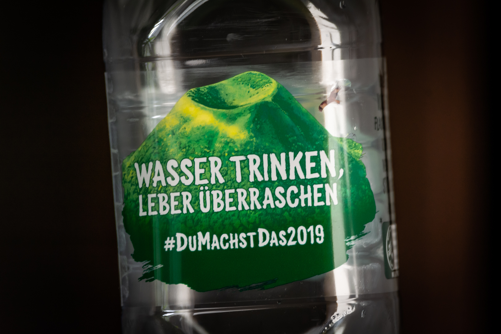 Wasser trinken,...