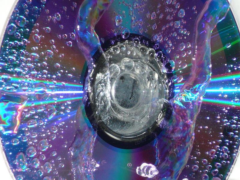 wasser und cd`s