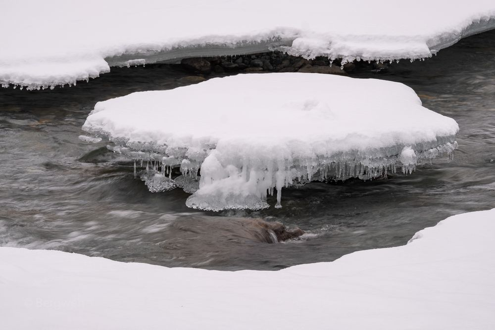 Wasser und Eis