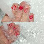 wasser und finger
