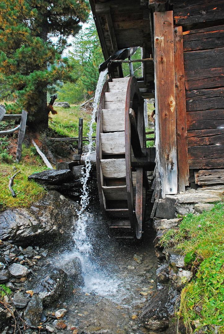 Wasser und vergangener Zeitgeist