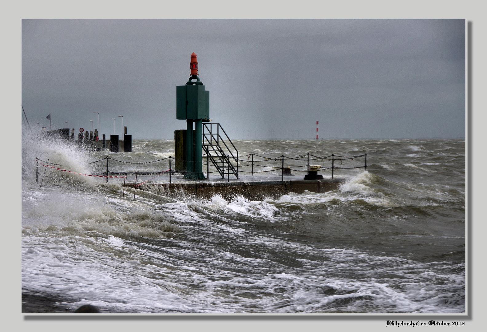 Wasser und Wind