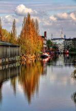Wasserarm in Wilhelmsburg