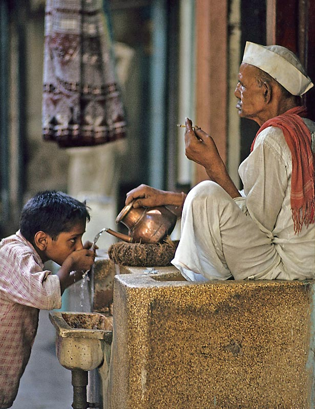 Wasserbesitz ist Macht