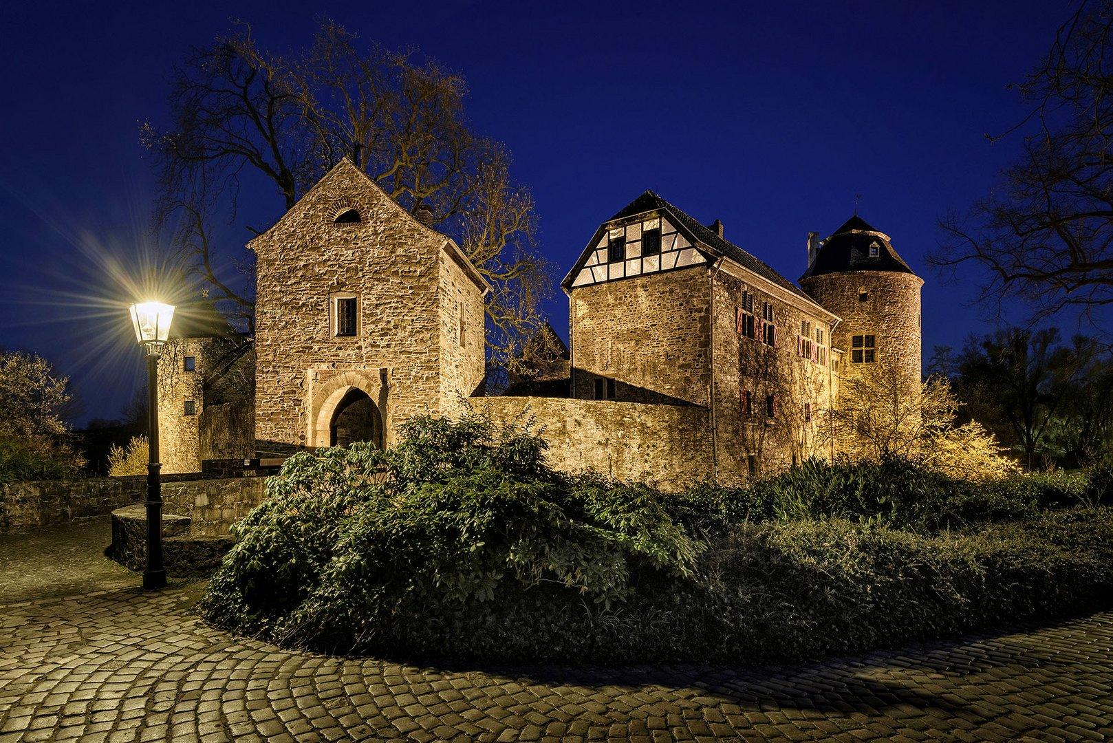 Wasserburg Ratingen Haus zum Haus Foto & Bild