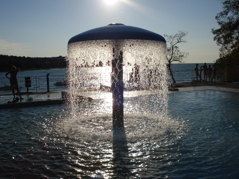 Wasserdusche
