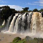 Wasserfälle des blauen Nil