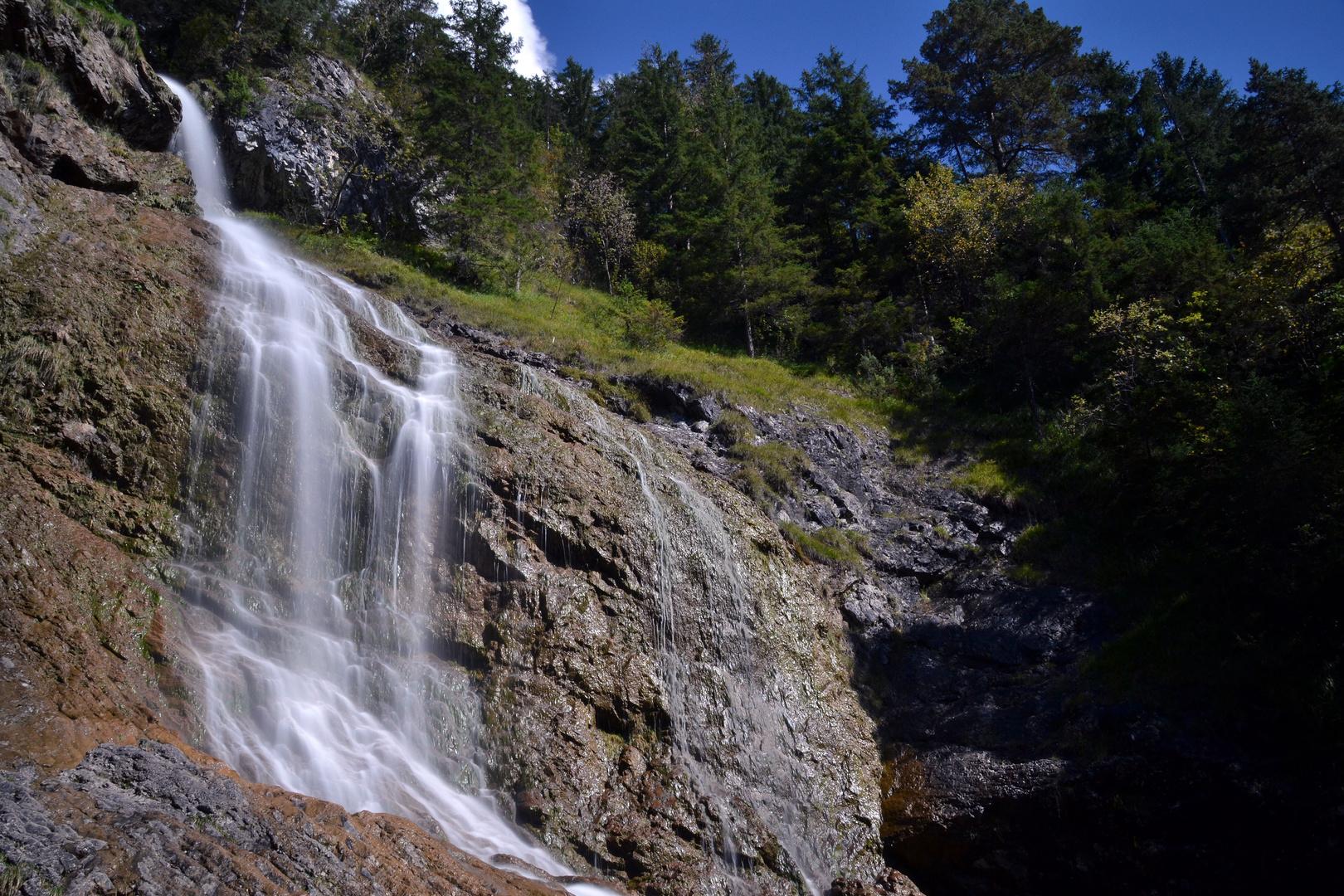 Wasserfälle Hinterstein bei Bad Hindelang