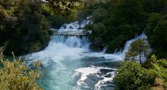 Wasserfälle im Nationalpark Krka