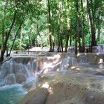 Wasserfälle im Oberlauf vom Tad Se - II