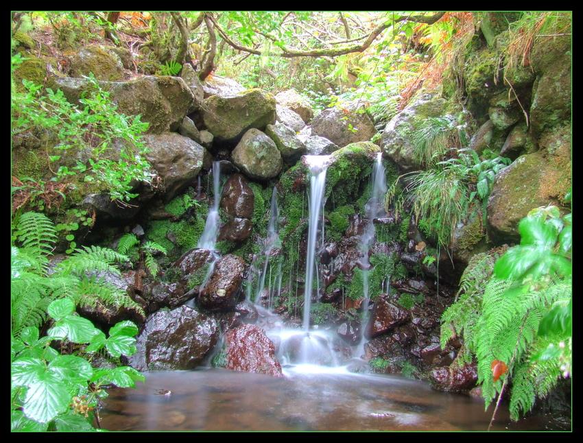 - Wasserfall -