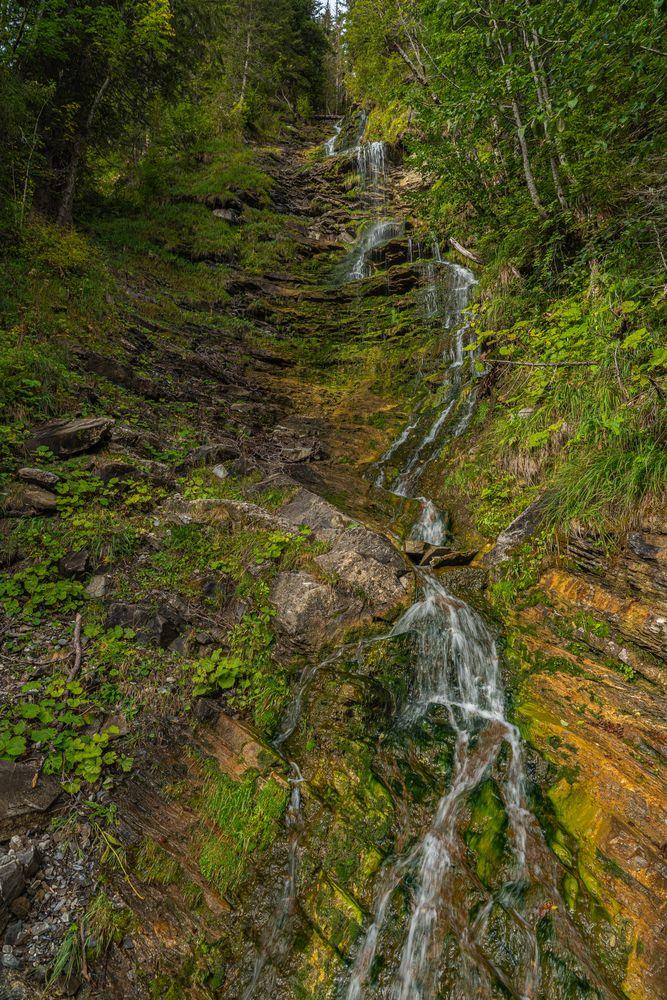 Wasserfall am Arnensee