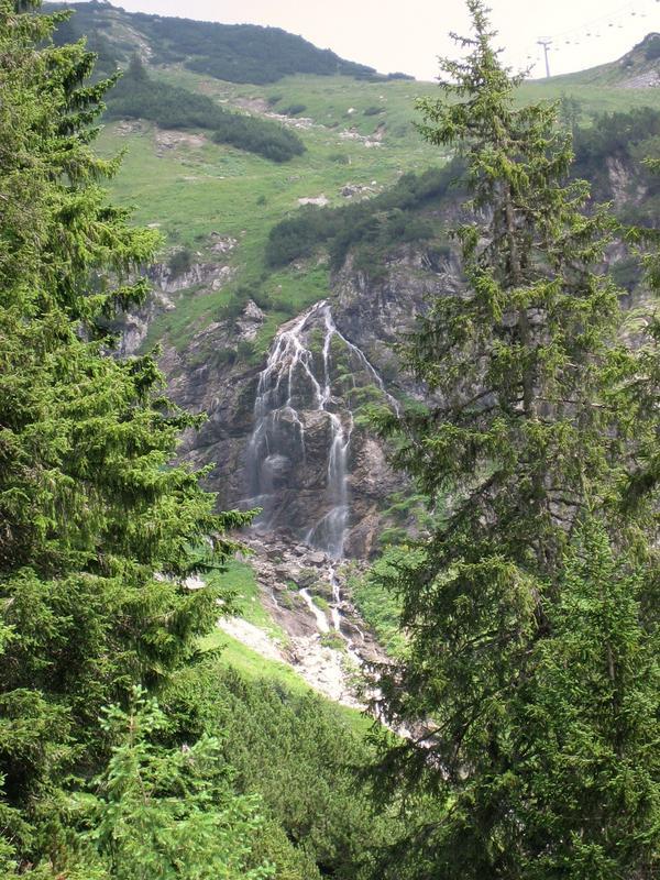 Wasserfall am Nebelhorn