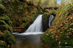 """Wasserfall an der """"Wilden Endert"""""""