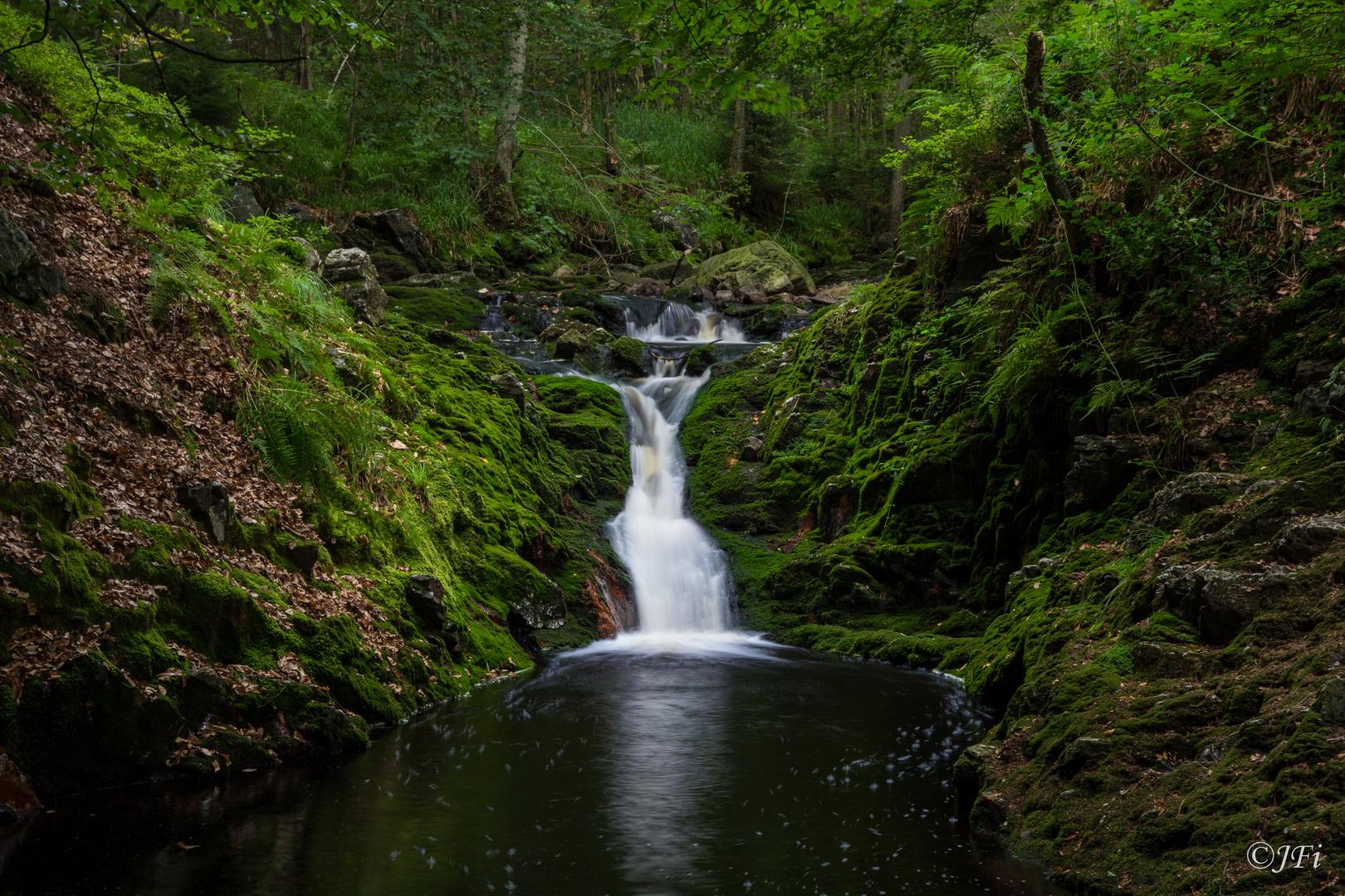 Wasserfall Ardennen
