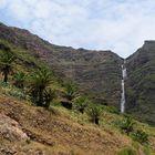 Wasserfall auf La Gomera