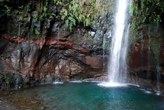 Wasserfall auf Madeira