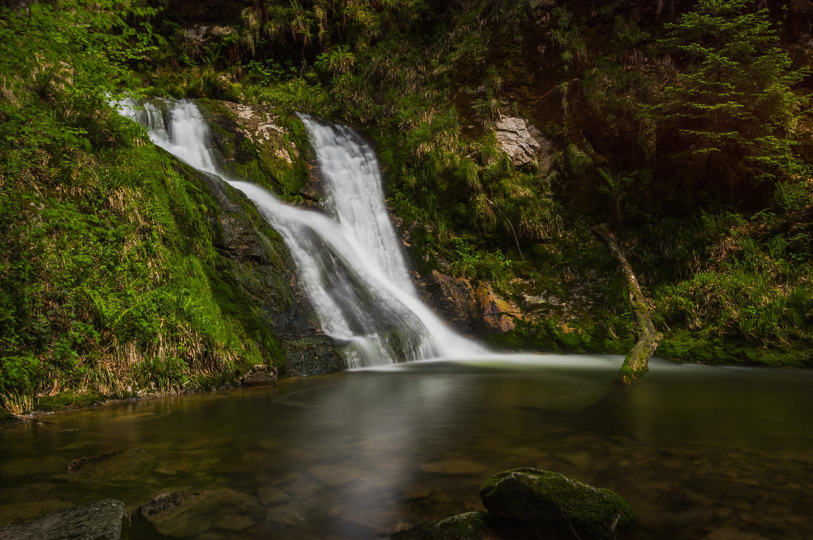 Wasserfall bei Allerheiligen