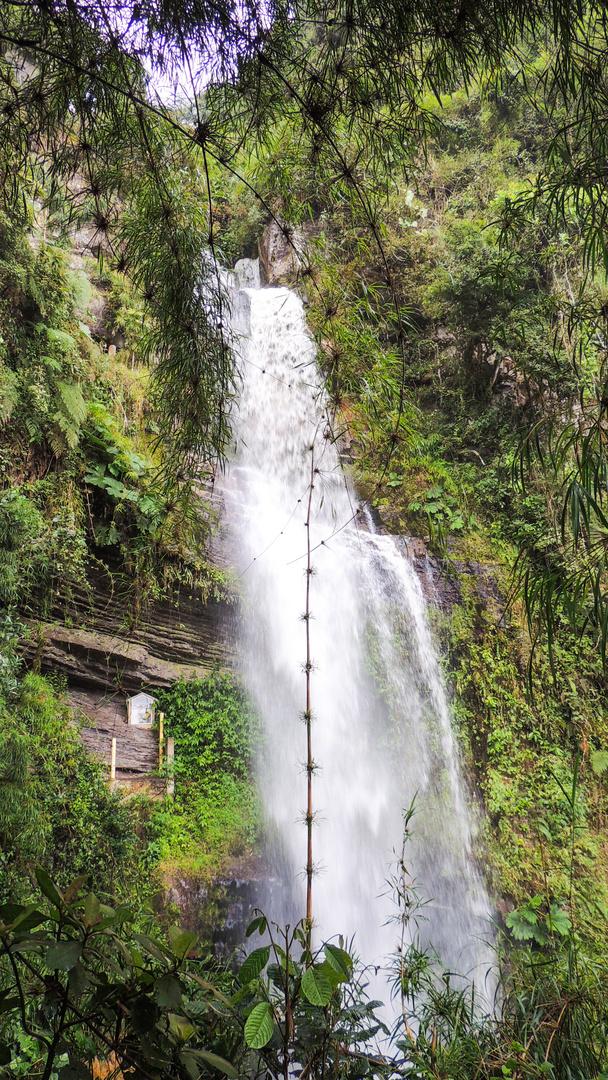 Wasserfall bei Choachi