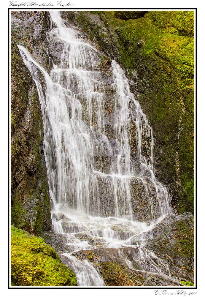 Wasserfall Blauenthal (Ausschnitt)