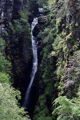 Wasserfall - Covrieshalloch Gorge Schottland