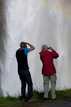 Wasserfall digital