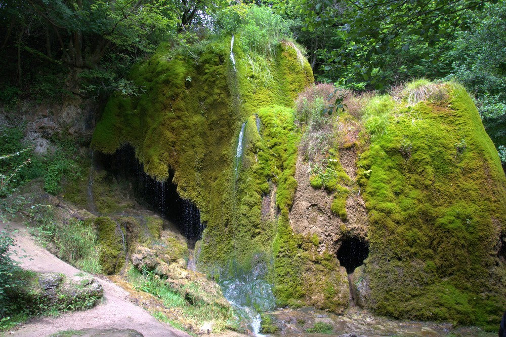 Wasserfall Dreimühlen bei Nohn in der Eifel